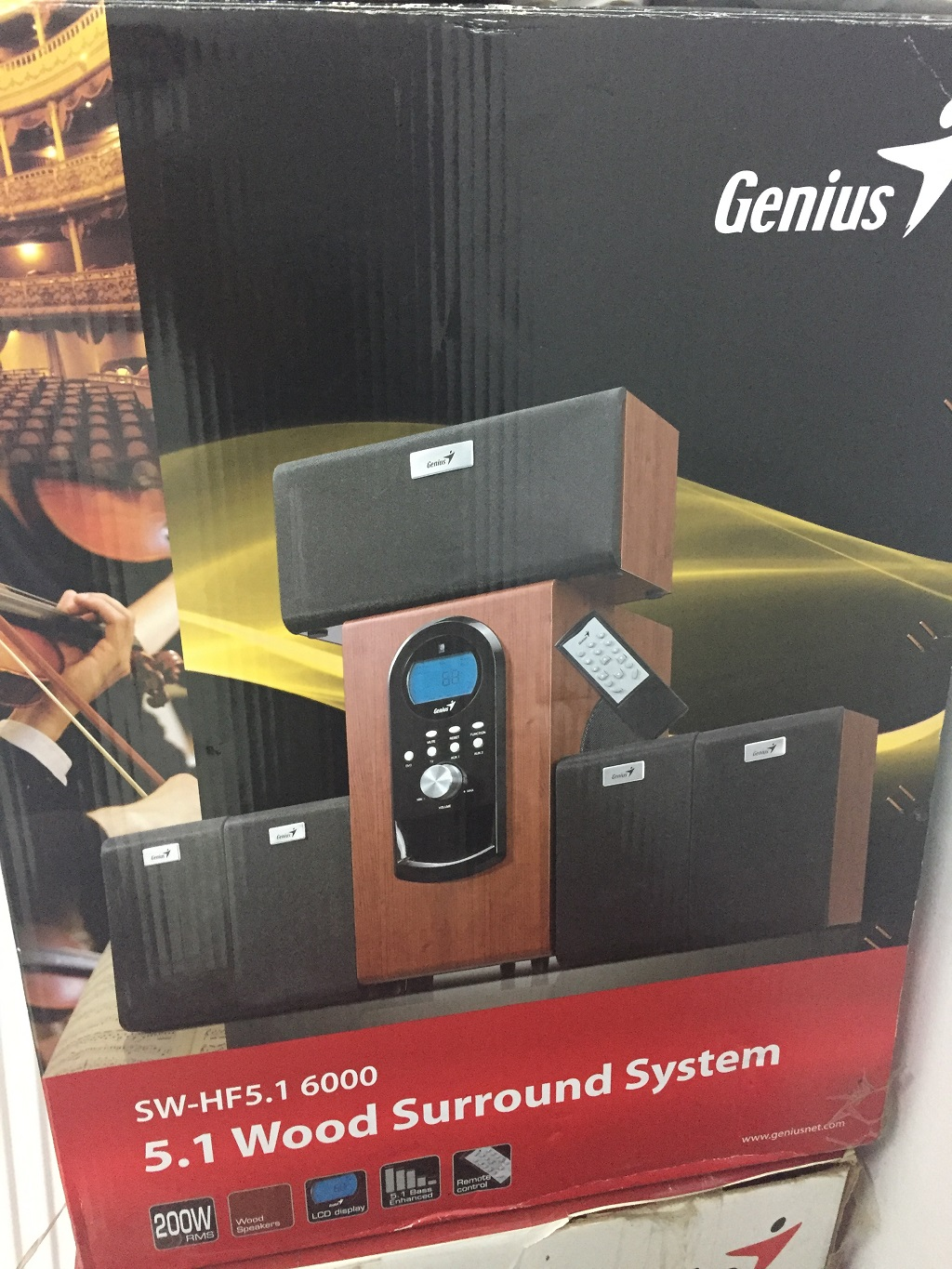 SISTEM AUDIO GENIUS